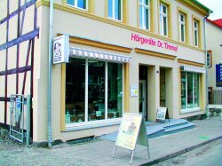 Abbildung Geschäftsgebäude Neustrelitz